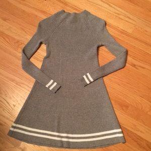 Abercrombie Kids ribbed sweater dress girls 9/10